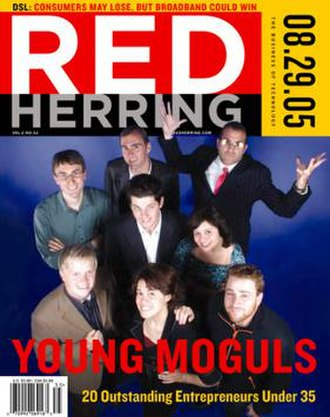 Red Herring (magazine) - August 29, 2005 cover of Red Herring magazine