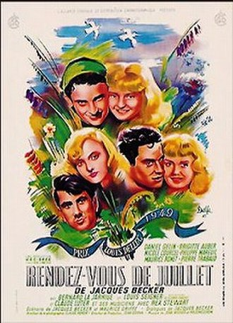 Rendezvous in July - Theatrical release poster