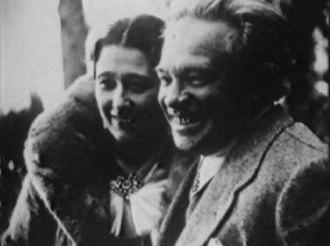 Elsa Respighi - Elsa and Ottorino Respighi in the 1920s