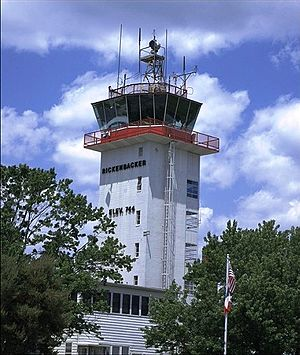 Rickenbacker International Airport - Old Rickenbacker Tower