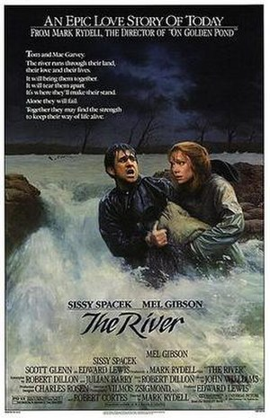 The River (1984 film) - Theatrical release poster