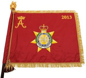 Royal Australian Corps of Transport - RACT Princess Royal Banner 2013