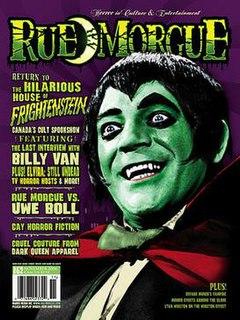 <i>Rue Morgue</i> (magazine) Magazine