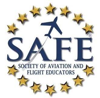 Society of Aviation and Flight Educators - Image: SAFE logo registered