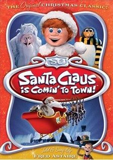 <i>Santa Claus Is Comin to Town</i> (film) 1970 film by Jules Bass