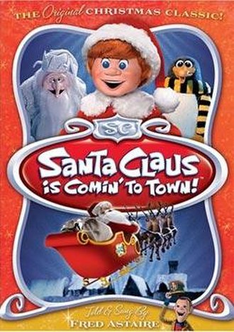 Santa Claus Is Comin' to Town (film) - Image: SCICTT cover