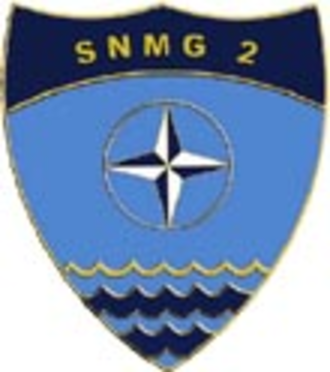 Standing NATO Maritime Group 2 - SNMG2 Coat of Arms