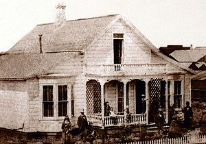 Salinas, California - First Mayor's House circa 1868