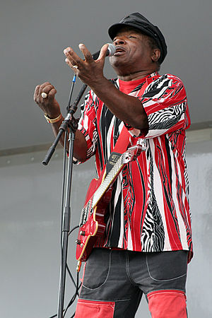 Sam Taylor (blues musician) - Taylor performing at the Port Jefferson American Music Festival, 2006.