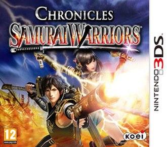 Samurai Warriors: Chronicles - European cover art