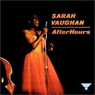 After Hours (1961 Sarah Vaughan album) - Image: Sarah Vaughan After Hours