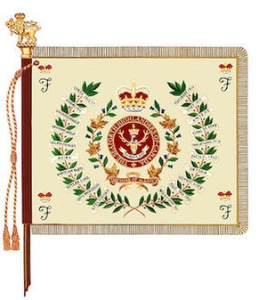 The Seaforth Highlanders of Canada - The regimental colour of The Seaforth Highlanders of Canada.