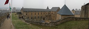 Sedan, Ardennes - Image: Sedan Castle 20060212 panorama