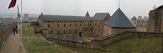 Sedan, Ardennes - Image: Sedan Castle 20060212 panorama