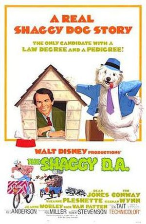 The Shaggy D.A. - Theatrical release poster