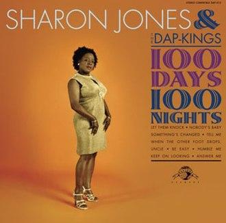 100 Days, 100 Nights - Image: Sharon Jones 100 days