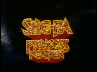 <i>She-Ra: Princess of Power</i> American animated television series from 1985–1987