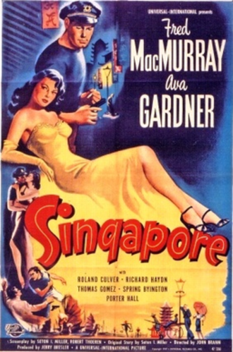 Singapore (1947 film) - Theatrical release poster