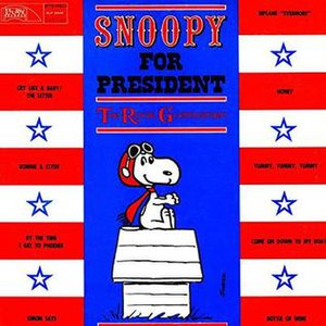 Snoopy for President - Image: Snoopy for President cover
