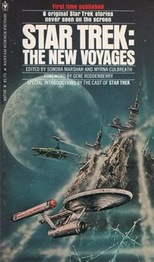 Cover of Star Trek: The New Voyages (1976)