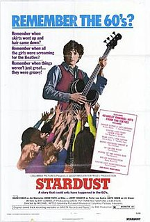 <i>Stardust</i> (1974 film) 1974 British film directed by Michael Apted