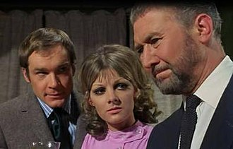 Strange Report - Kaz Garas, Anneke Wills, and Anthony Quayle