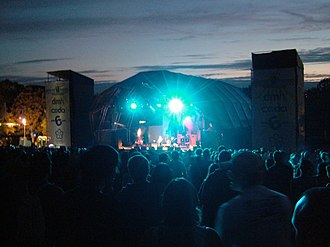 Summer Sundae - The main stage of the 2007 festival.