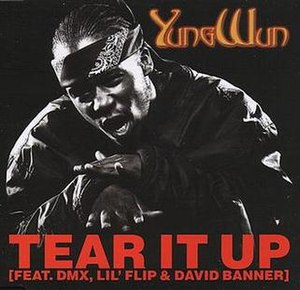 Tear It Up (Yung Wun song) - Image: Tear It Up single