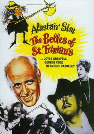 The Belles of St Trinian's - DVD cover