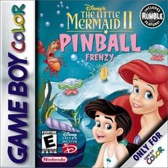 The Little Mermaid II: Pinball Frenzy - Cover art
