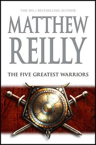 The Five Greatest Warriors - Australian first edition cover