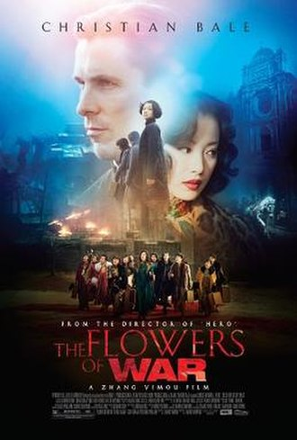 The Flowers of War - Theatrical release poster