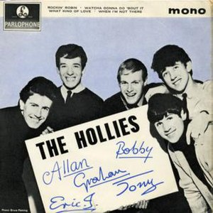 The Hollies (EP) - Image: The Hollies EP