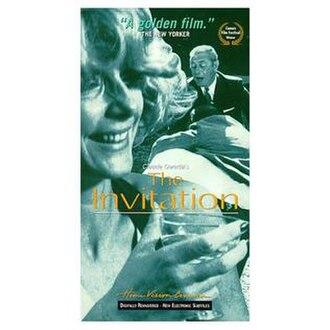 The Invitation (1973 film) - Image: The Invitation Film cover