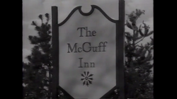 The McGuff Inn where the couple were caught.