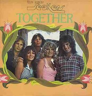 <i>Together</i> (The New Seekers album) 1974 studio album by The New Seekers
