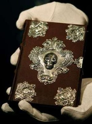 The Tales of Beedle the Bard - The Moonstone edition of the book was auctioned in December 2007.