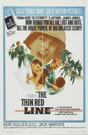 The Thin Red Line (1964 film) - Image: The Thin Red Line Film Poster