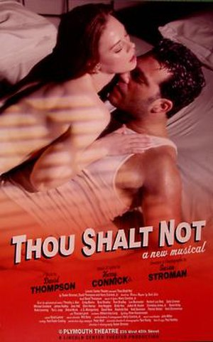 Thou Shalt Not (musical) - Poster from the production