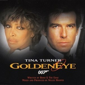 GoldenEye (song) - Image: Tina Turner Goldeneye French CD Single Cover