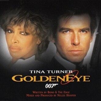 GoldenEye (song) - Image: Tina Turner Goldeneye French CD Single Cover
