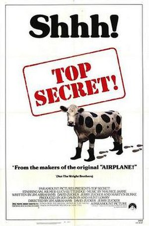 Top Secret! - Theatrical release poster