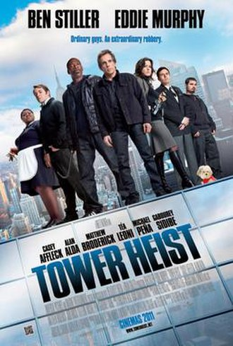 Tower Heist - Theatrical release poster