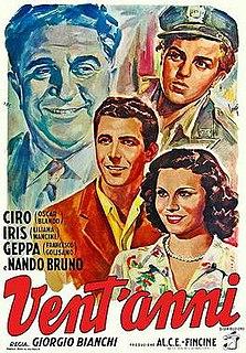 <i>Twenty Years</i> (film) 1950 film