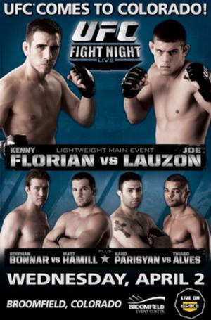 UFC Fight Night: Florian vs. Lauzon - Image: UFC Fight Night 13