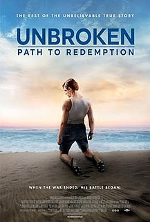 <i>Unbroken: Path to Redemption</i> 2018 film directed by Harold Cronk