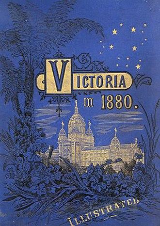 Garnet Walch - Book cover of Victoria in 1880 by Garnet Walch