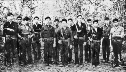 Viet Cong soldiers from D445 Bn (AWM P01934033)