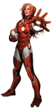 Pepper Potts character appearing in Marvel Comics
