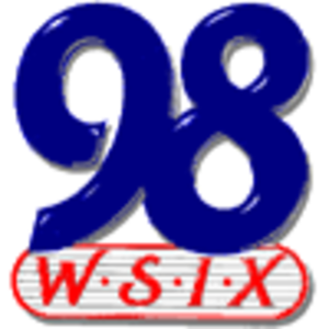 WSIX-FM - Legendary Big 98 logo used from the 1980s-August 2011